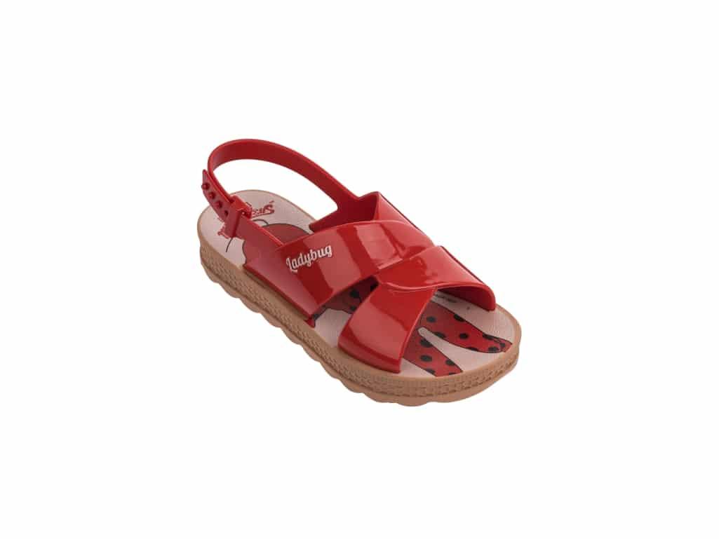 2a6375db9c Grendene Ladybug Trip Bag Sandália Infantil - Loja Rogério Calçados