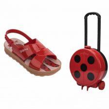 Grendene Ladybug Trip Bag Sandália Infantil